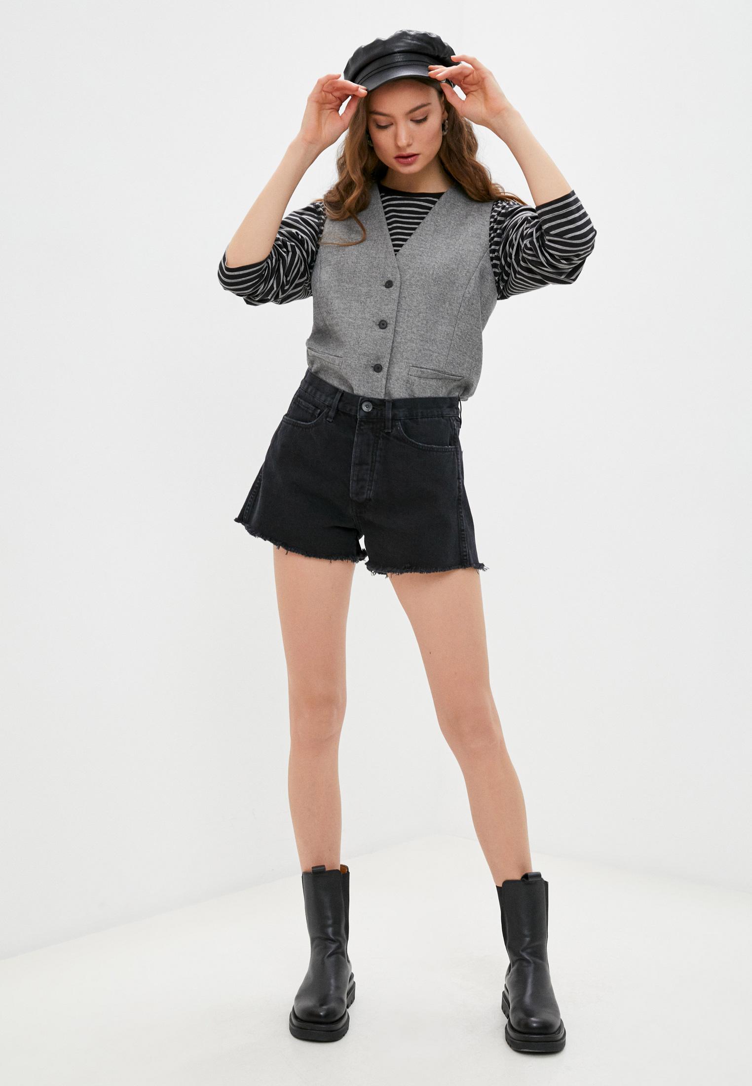 Женские джинсовые шорты 3X1 WSXSB1082: изображение 3