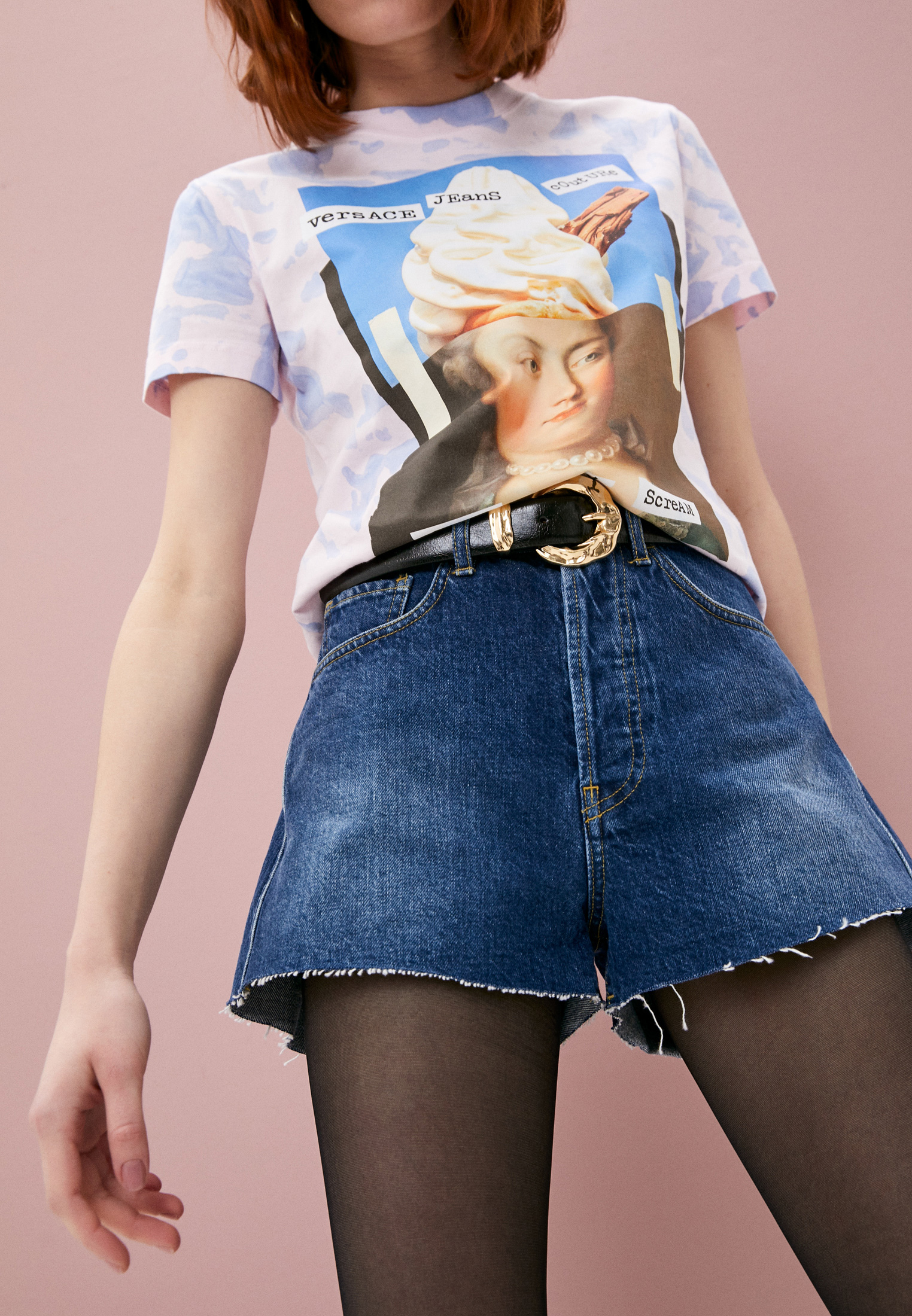 Женские джинсовые шорты 3X1 WSXSB0866: изображение 2