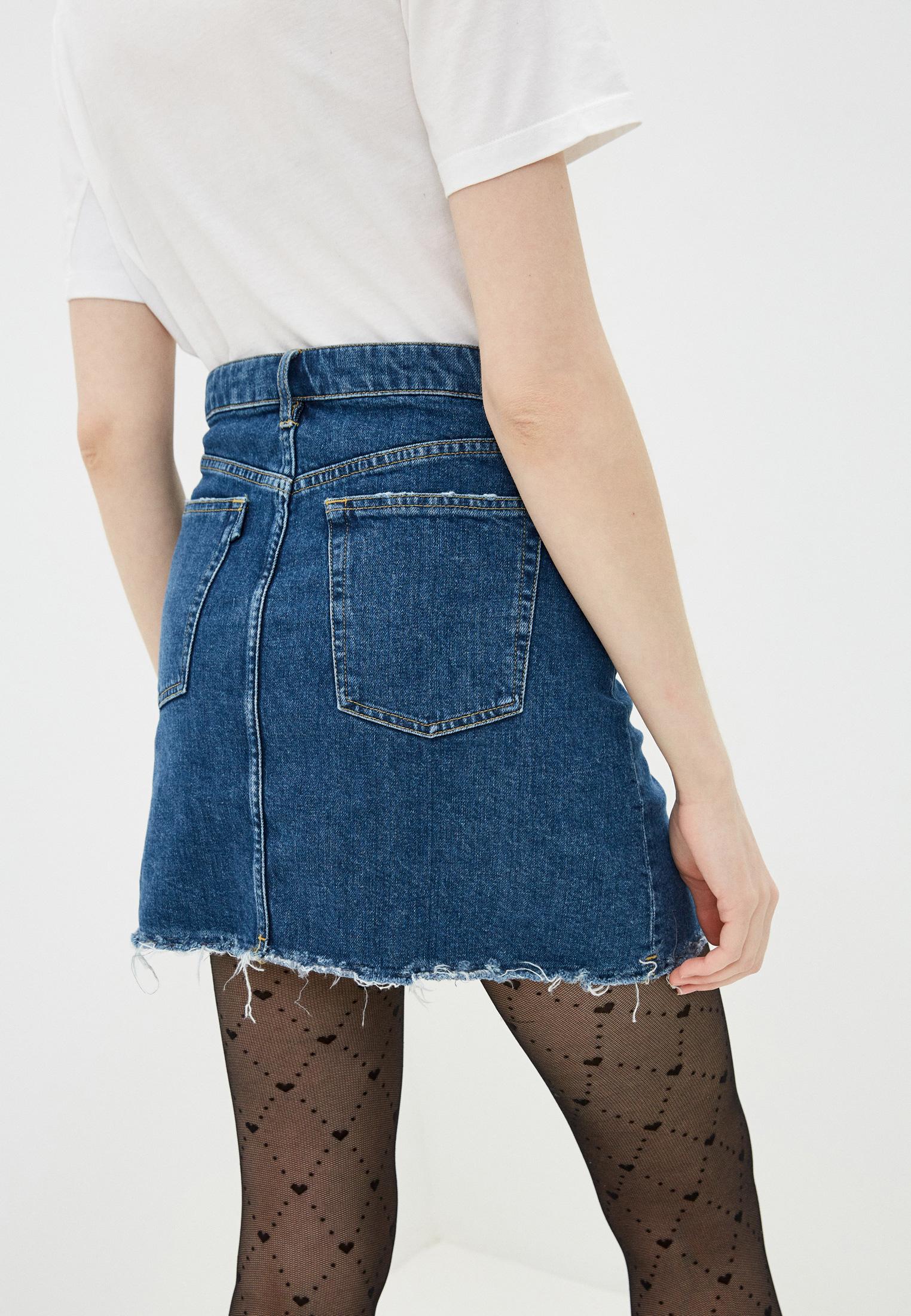 Джинсовая юбка 3X1 WSXPS1079: изображение 4