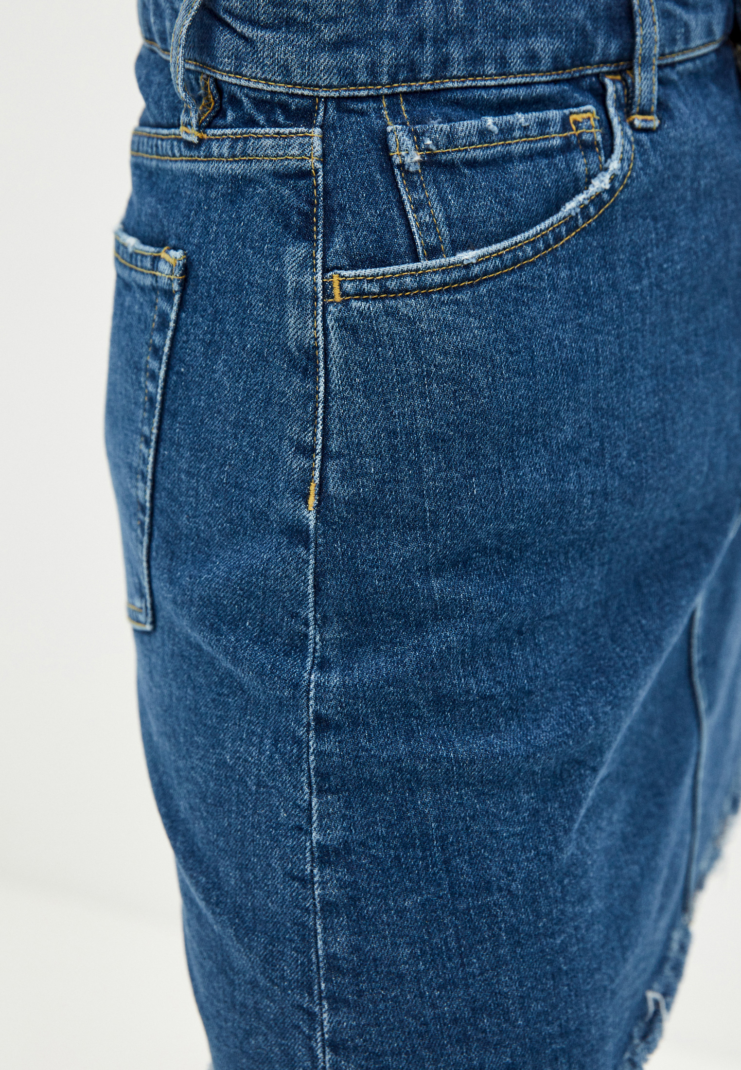 Джинсовая юбка 3X1 WSXPS1079: изображение 5