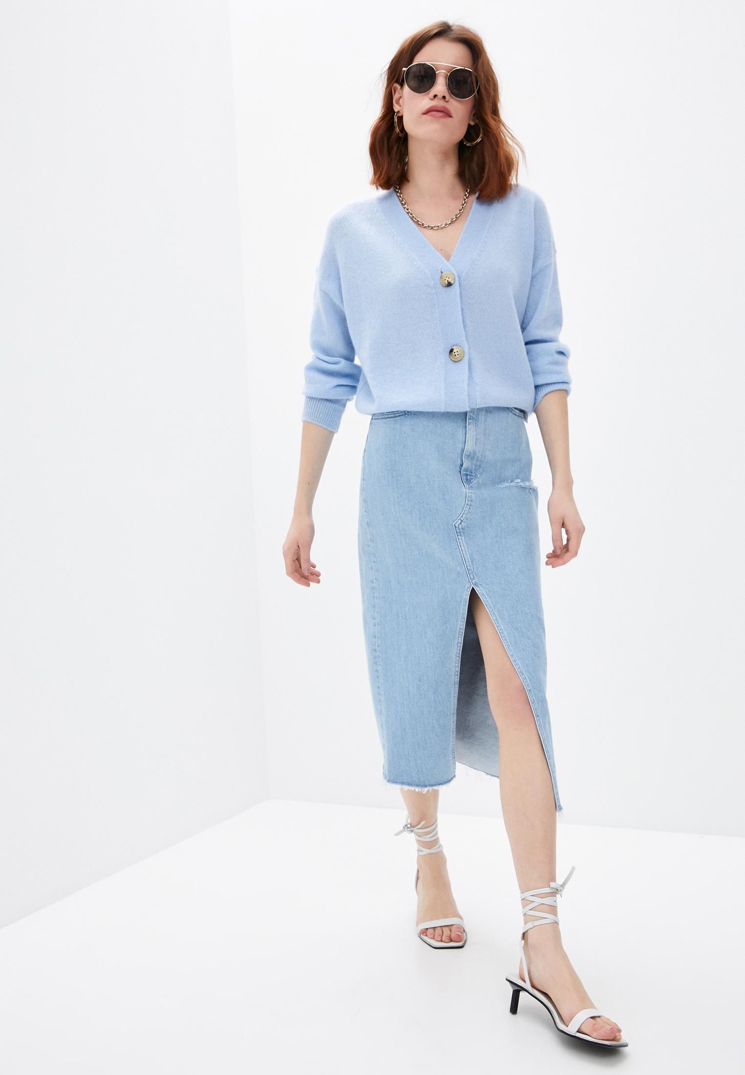 Джинсовая юбка 3X1 WS0021079: изображение 3