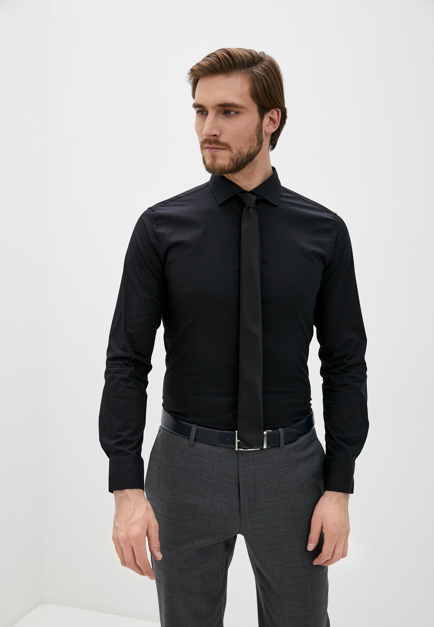 Рубашка с длинным рукавом Y.Two B25-H7012