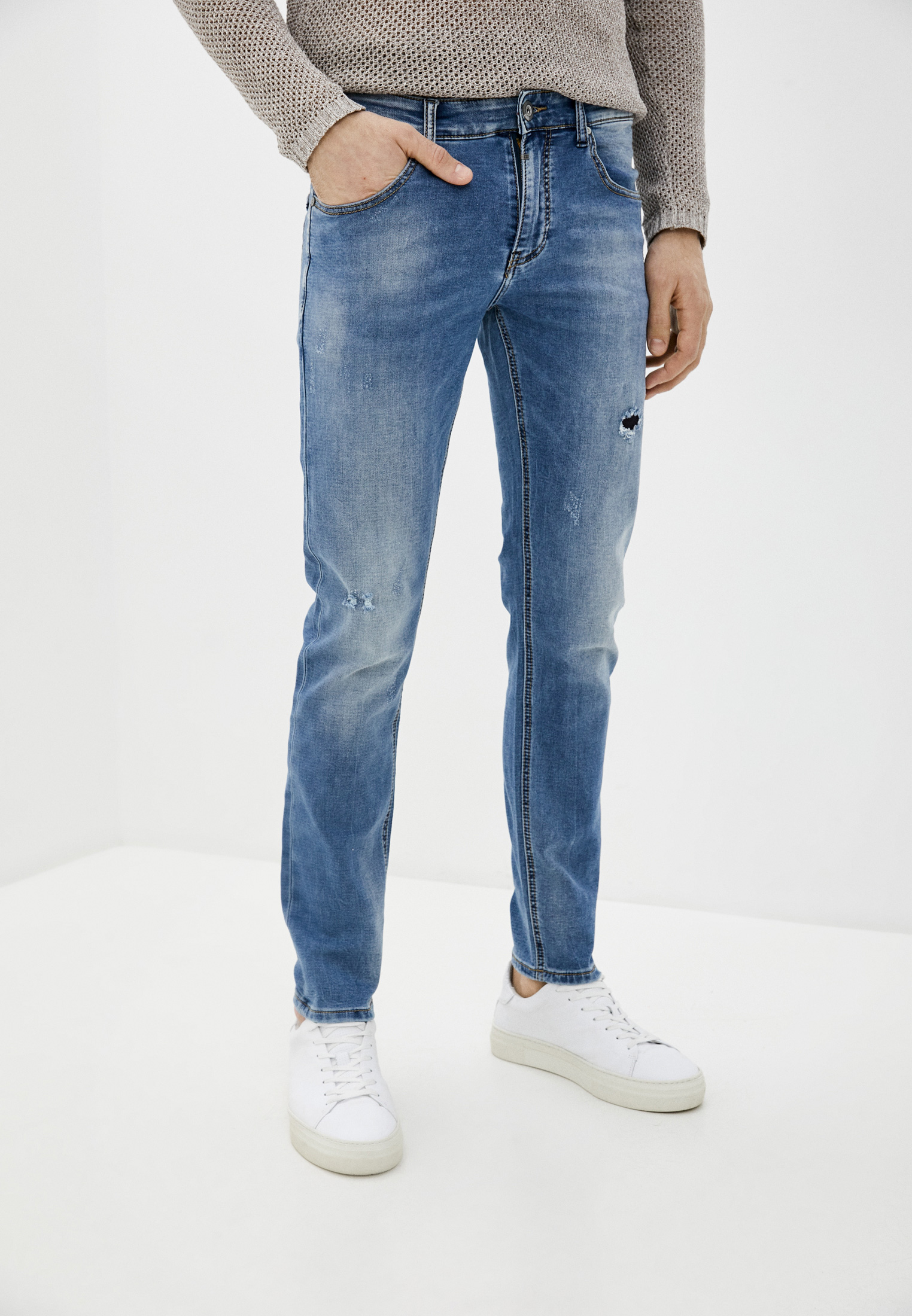 Зауженные джинсы Y.Two B25-Y1777