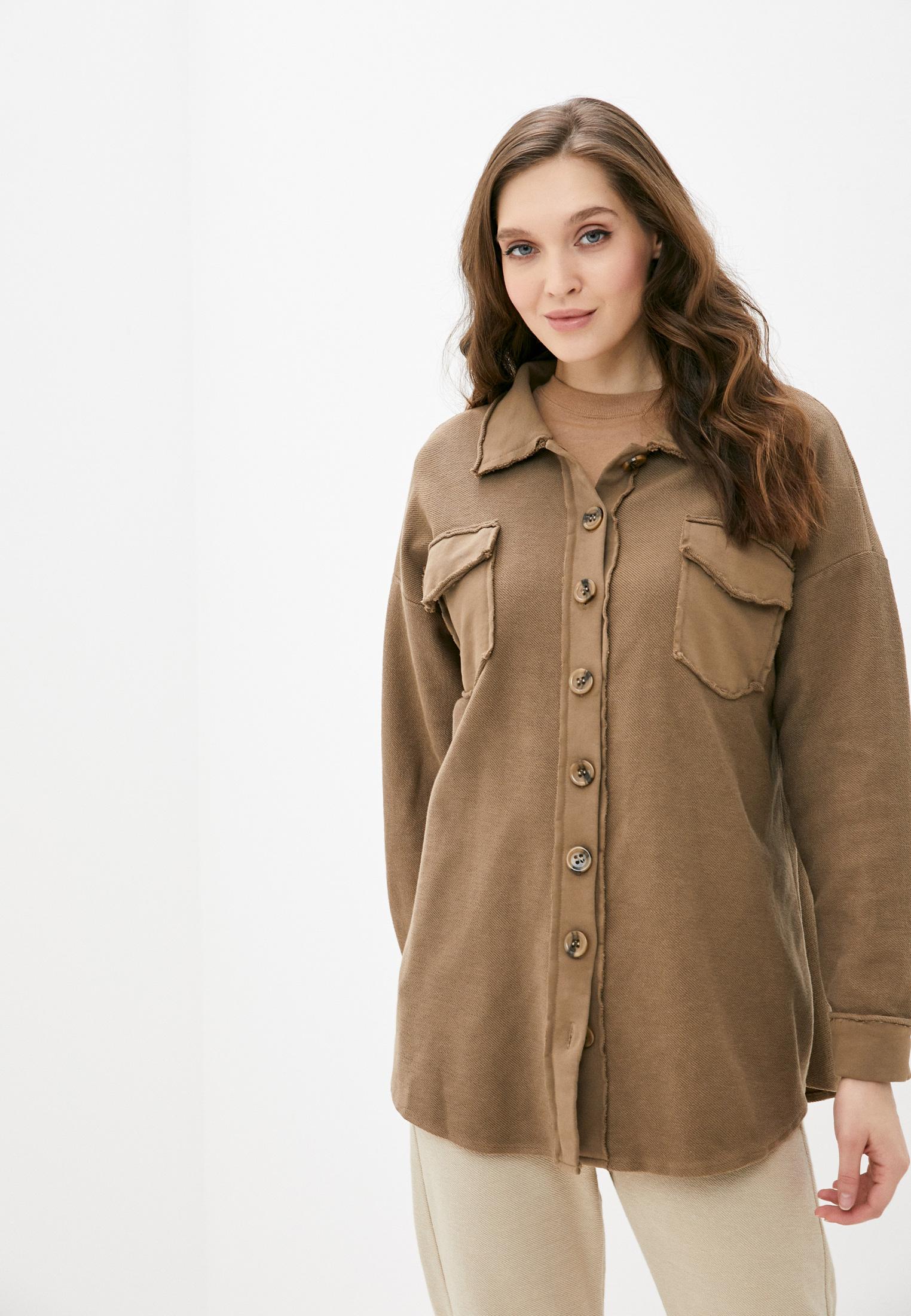 Женские рубашки с длинным рукавом Y.Two B25-B215