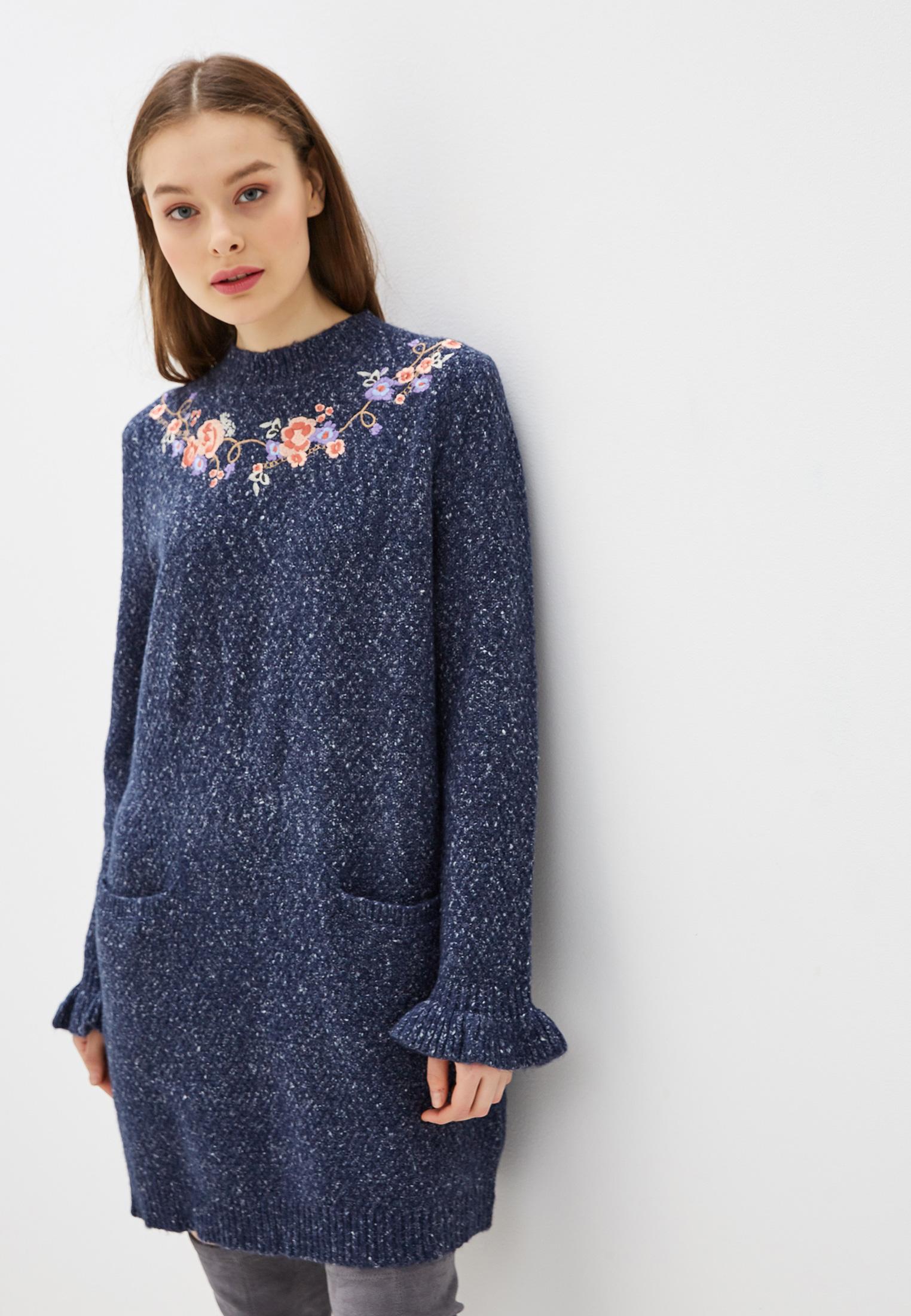 Вязаное платье Yumi YM1516