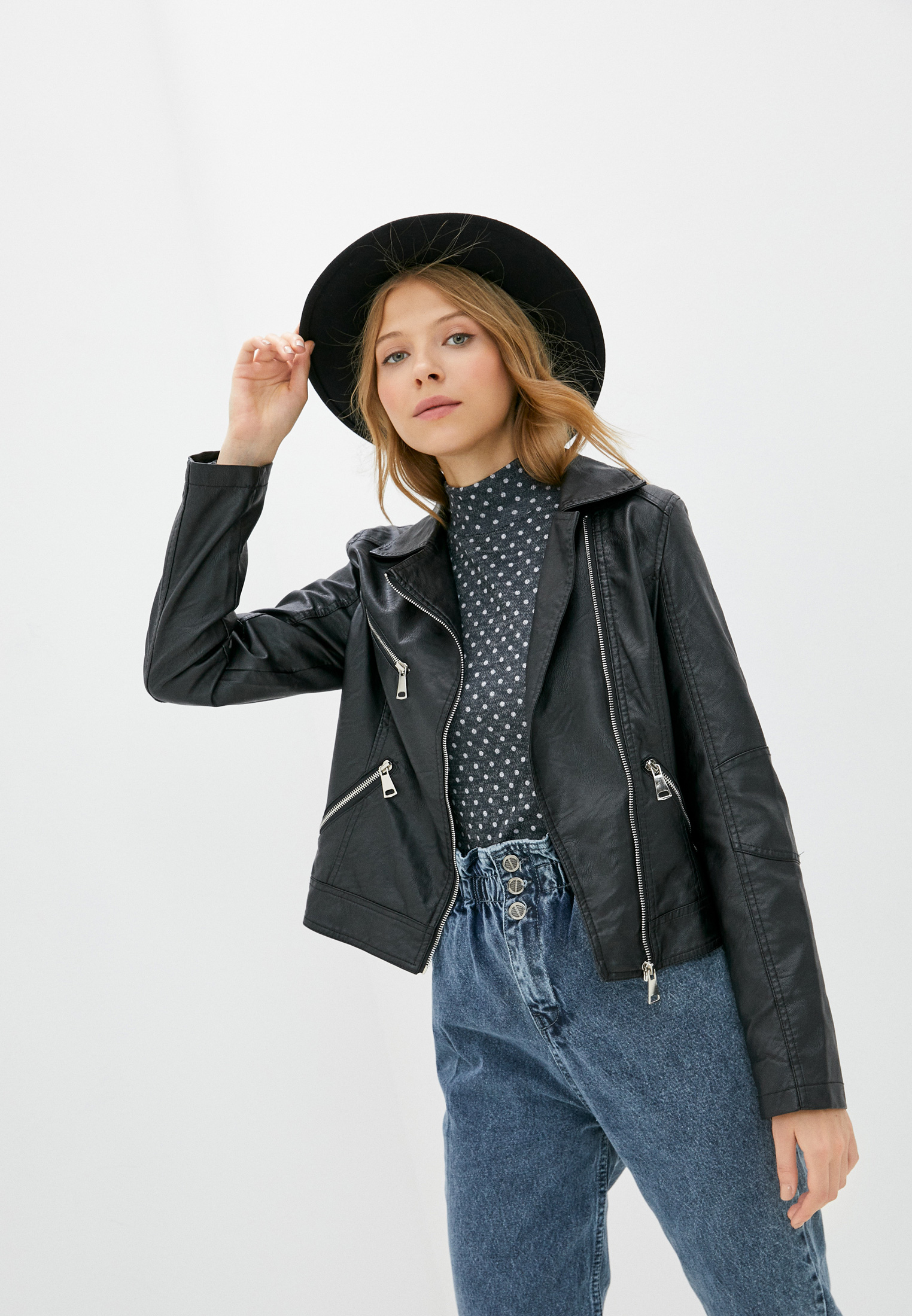 Кожаная куртка Z-Design B018-G88