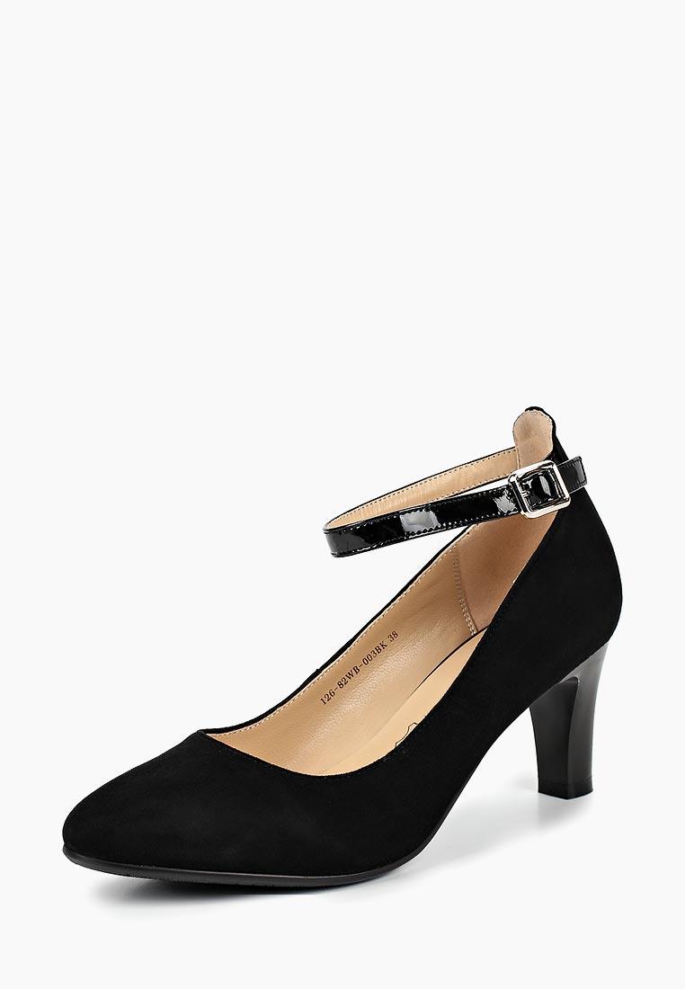 Женские туфли Zenden Collection 126-82WB-003BK