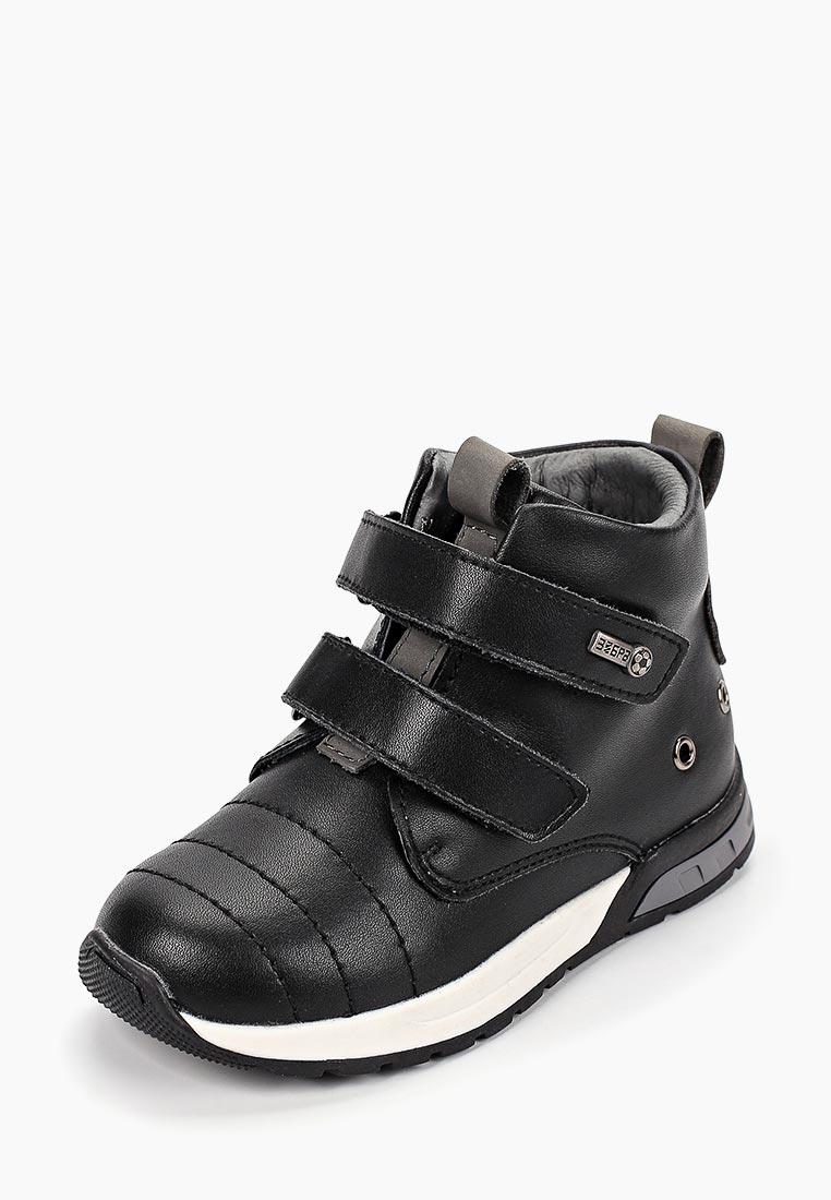 Ботинки для мальчиков Зебра 12566-1