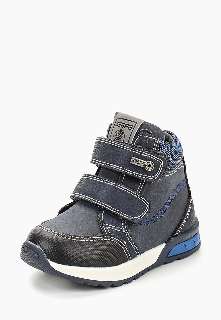 Ботинки для мальчиков Зебра 12593-5