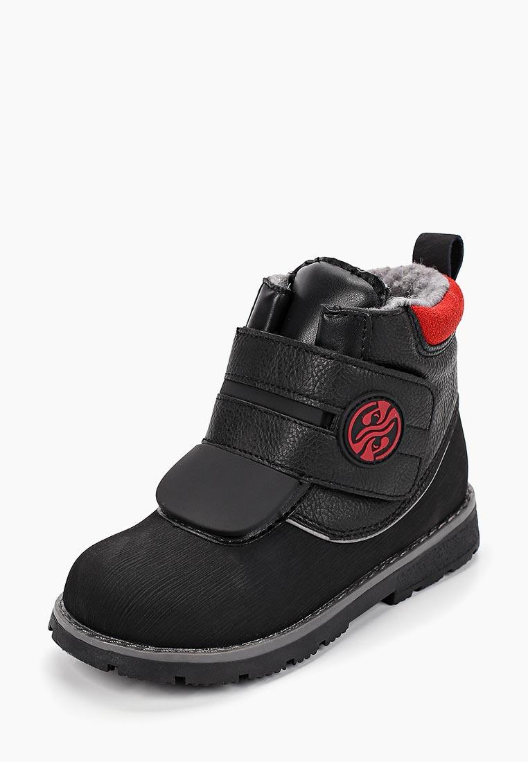 Ботинки для мальчиков Зебра 12710-1