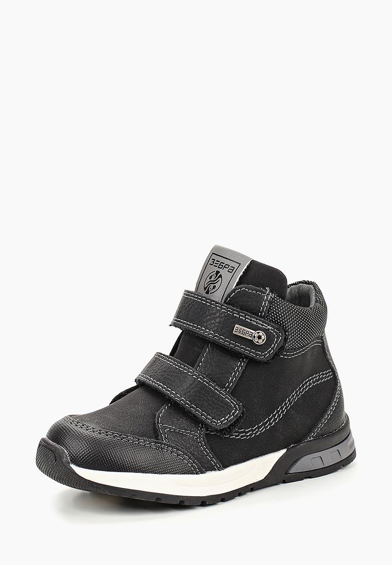 Ботинки для мальчиков Зебра 12866-1