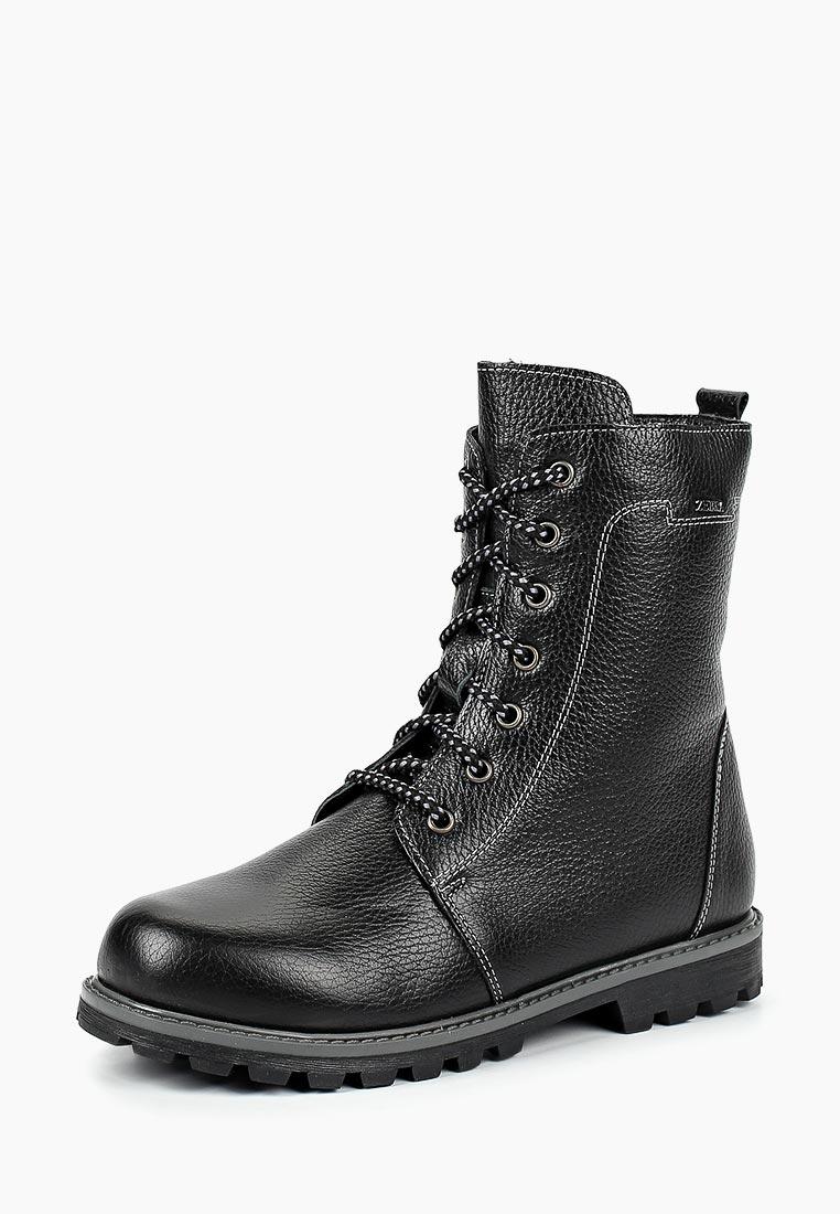 Ботинки для мальчиков Зебра 12170-1