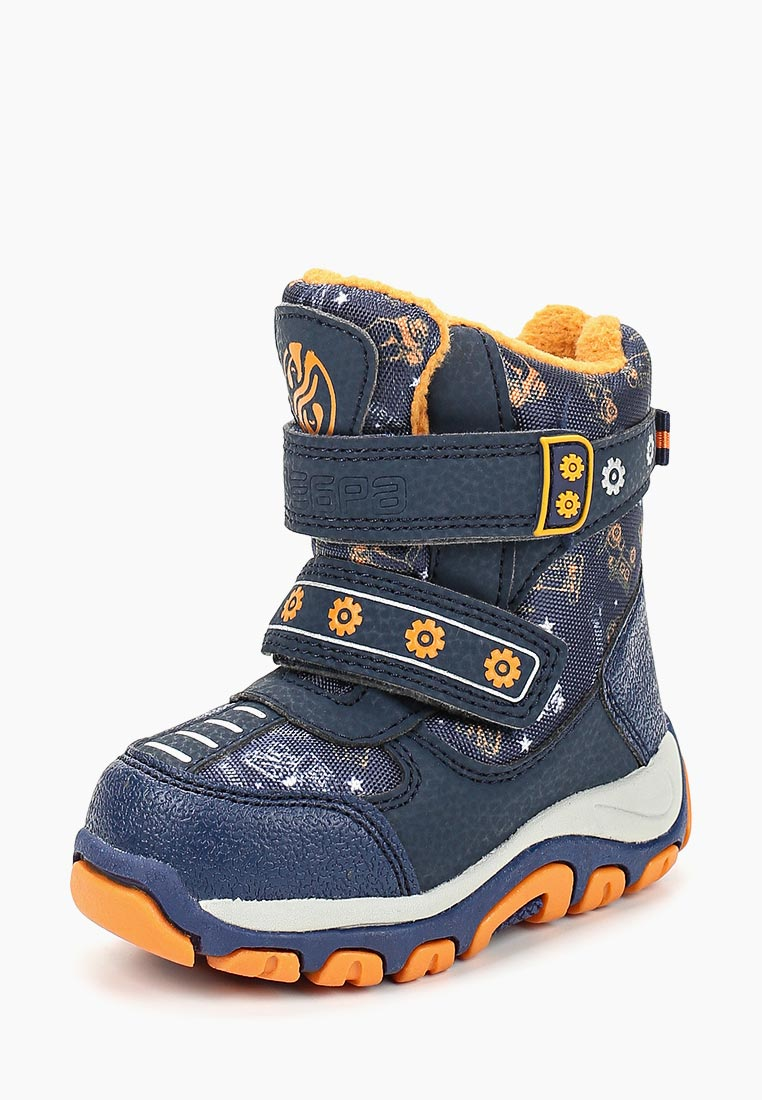 Ботинки для мальчиков Зебра 12540-5