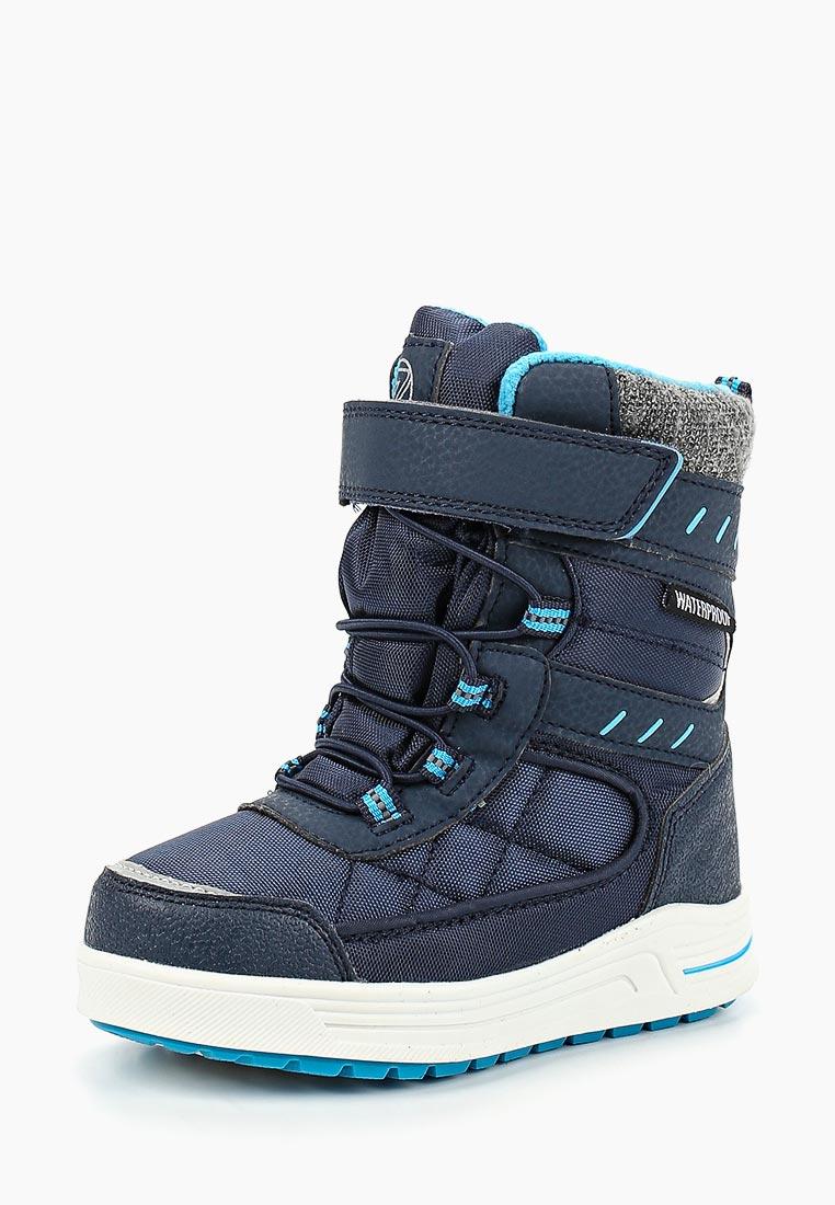 Ботинки для мальчиков Зебра 12547-5