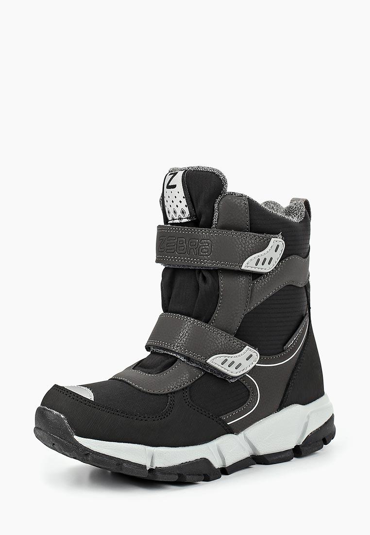 Ботинки для мальчиков Зебра 12648-10