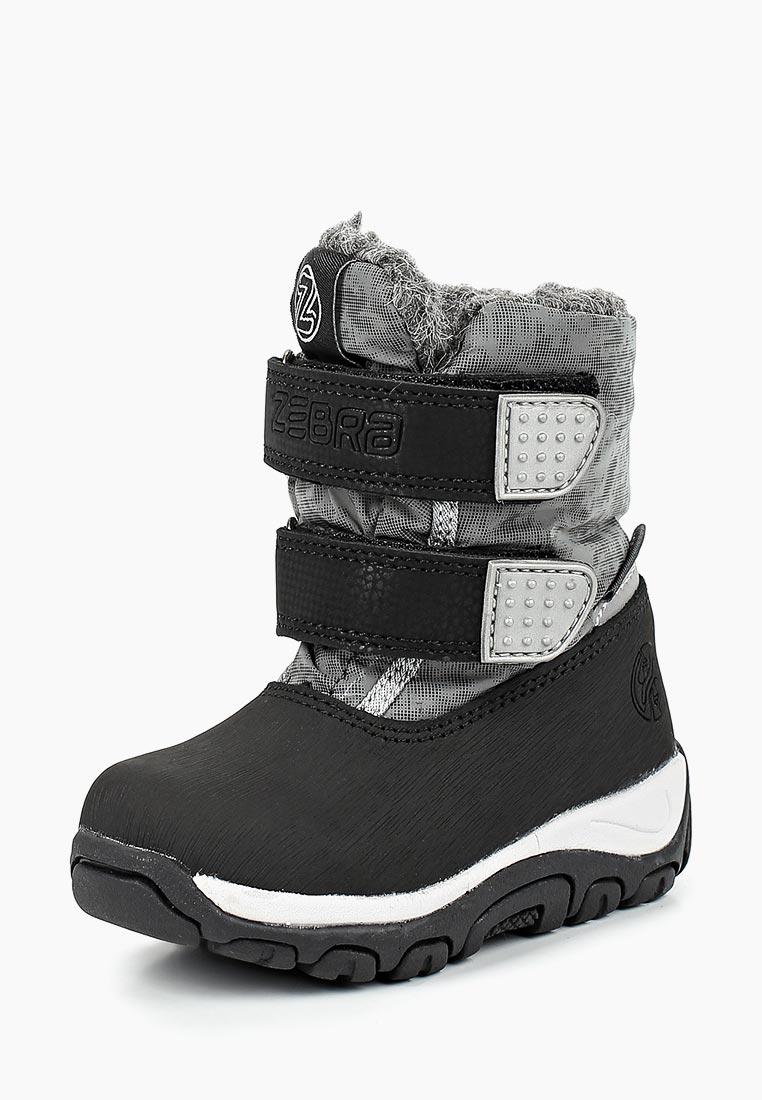 Ботинки для мальчиков Зебра 12676-10