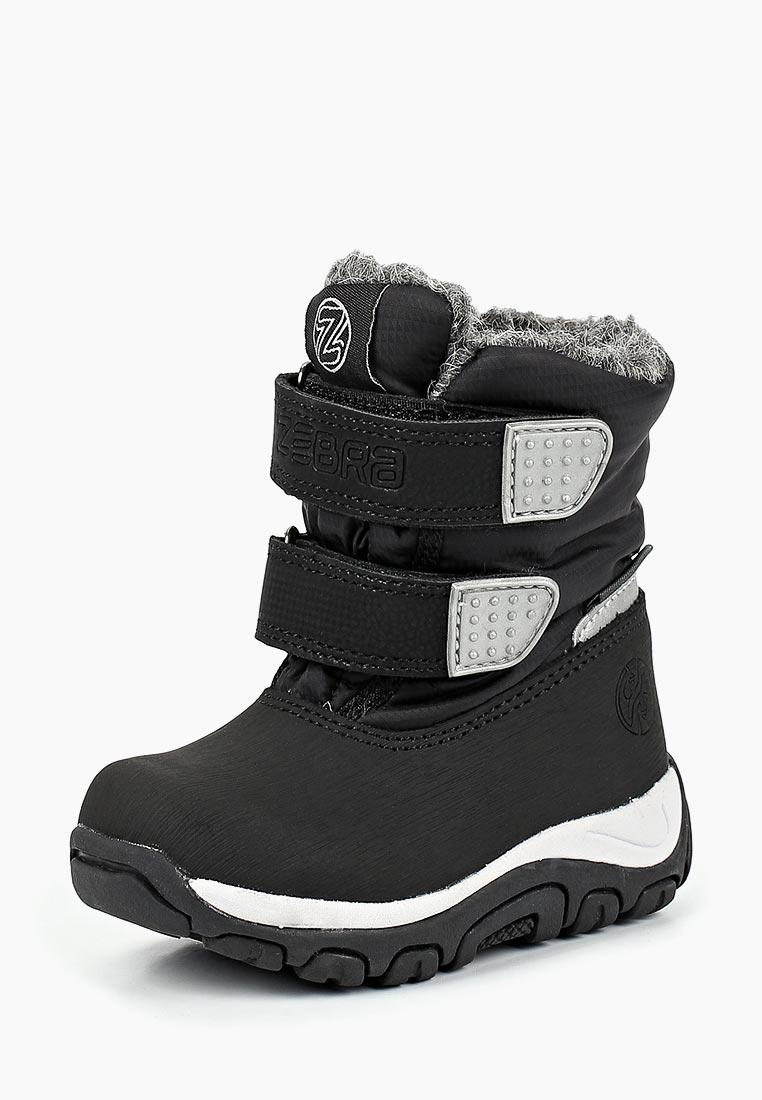 Ботинки для мальчиков Зебра 12677-1