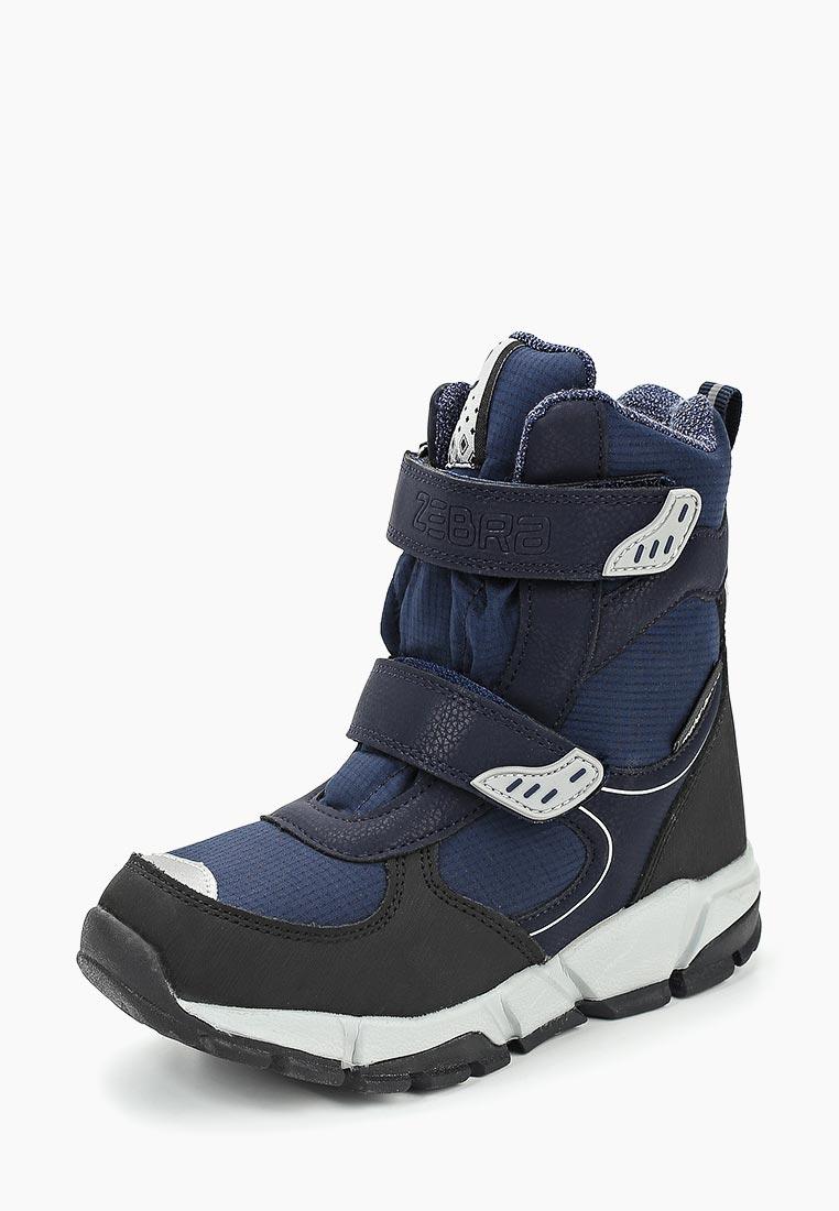 Ботинки для мальчиков Зебра 12900-5