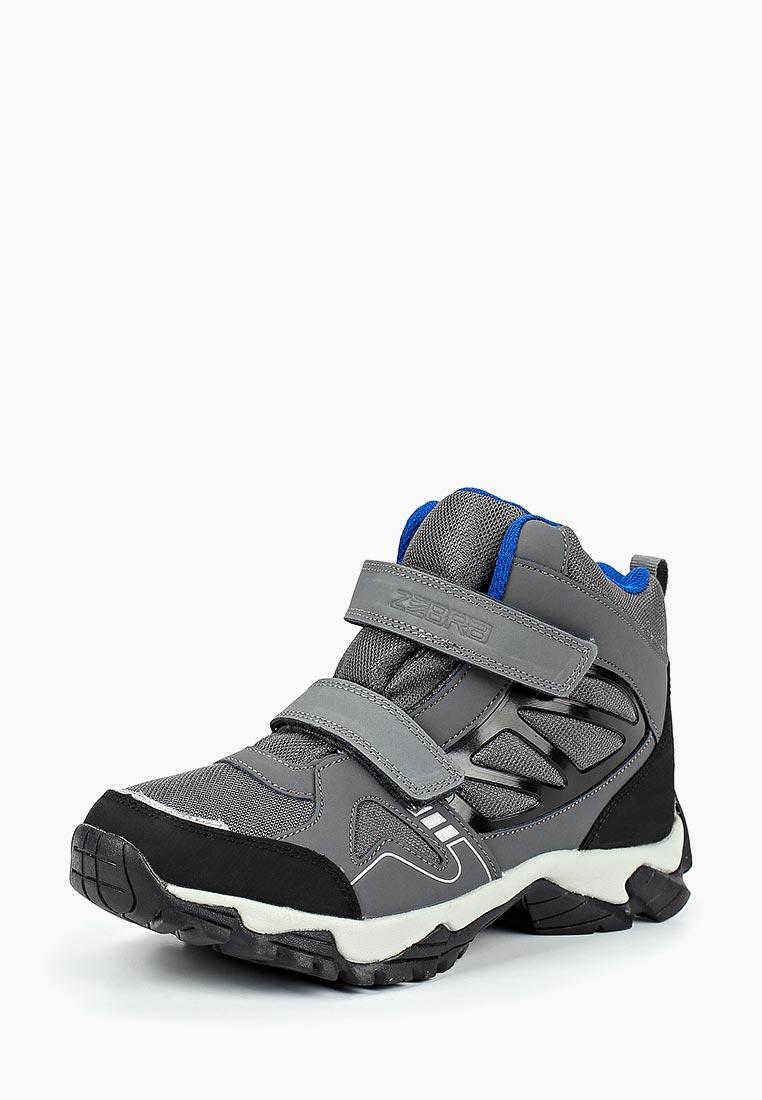 Ботинки для мальчиков Зебра 11049-10
