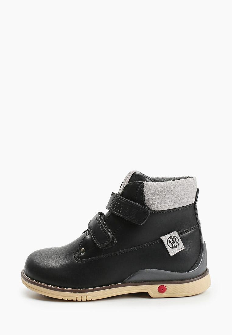 Ботинки для мальчиков Зебра 13586-1