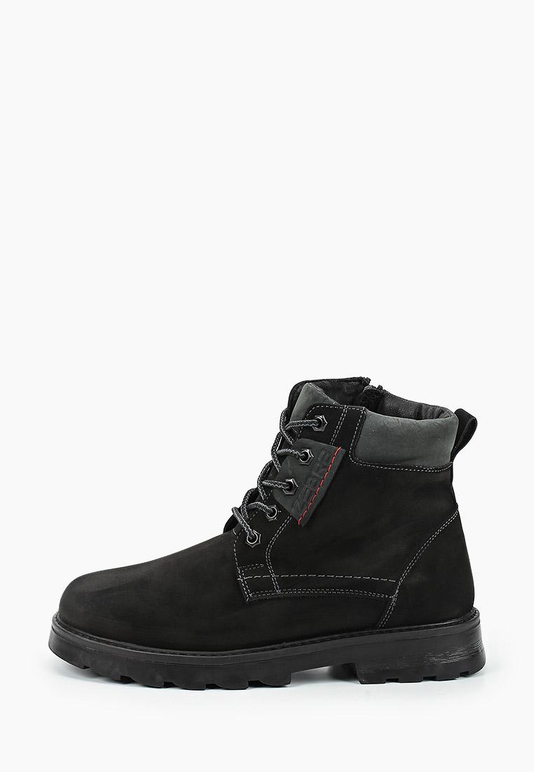 Ботинки для мальчиков Зебра 13549-1