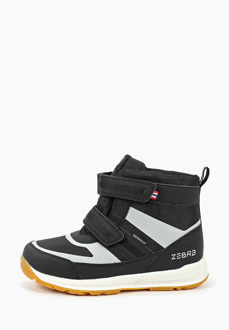 Ботинки для мальчиков Зебра 13813-1