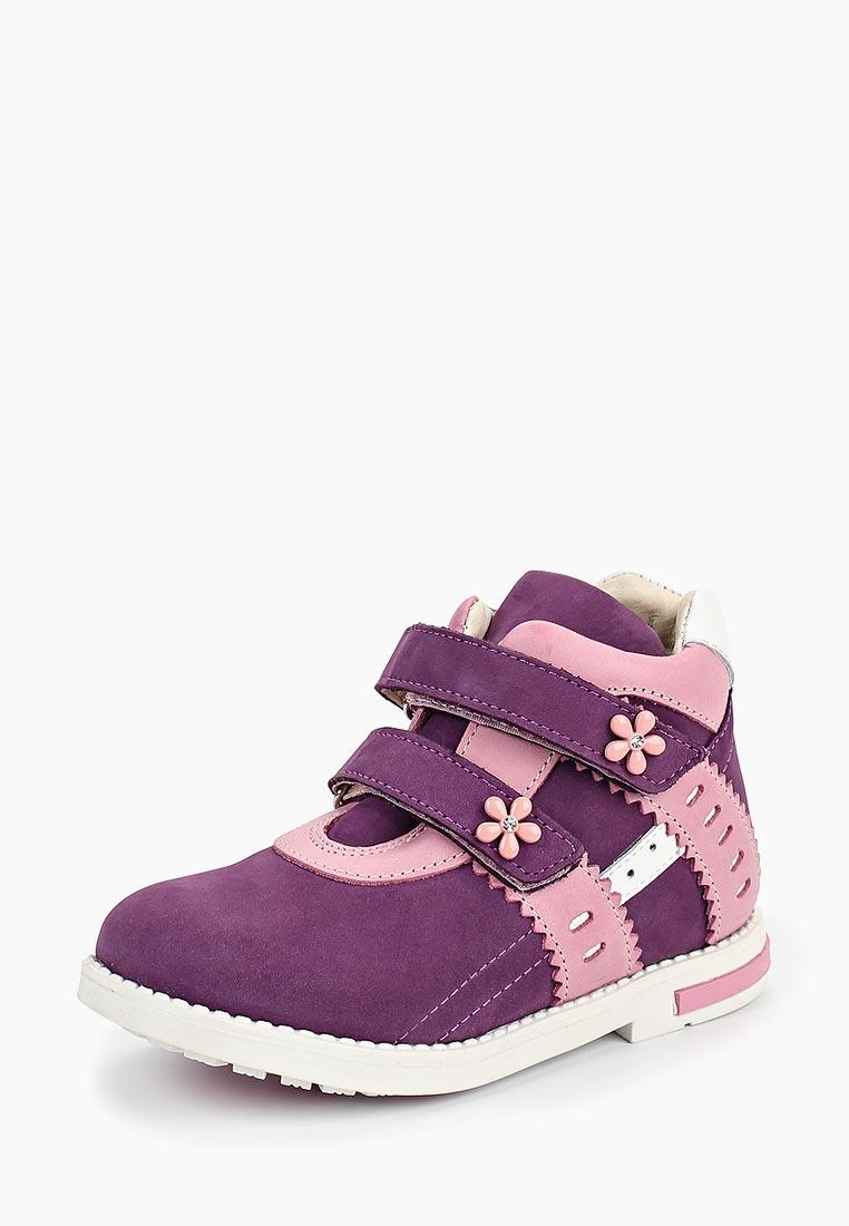 Ботинки для девочек Зебра 11501-26