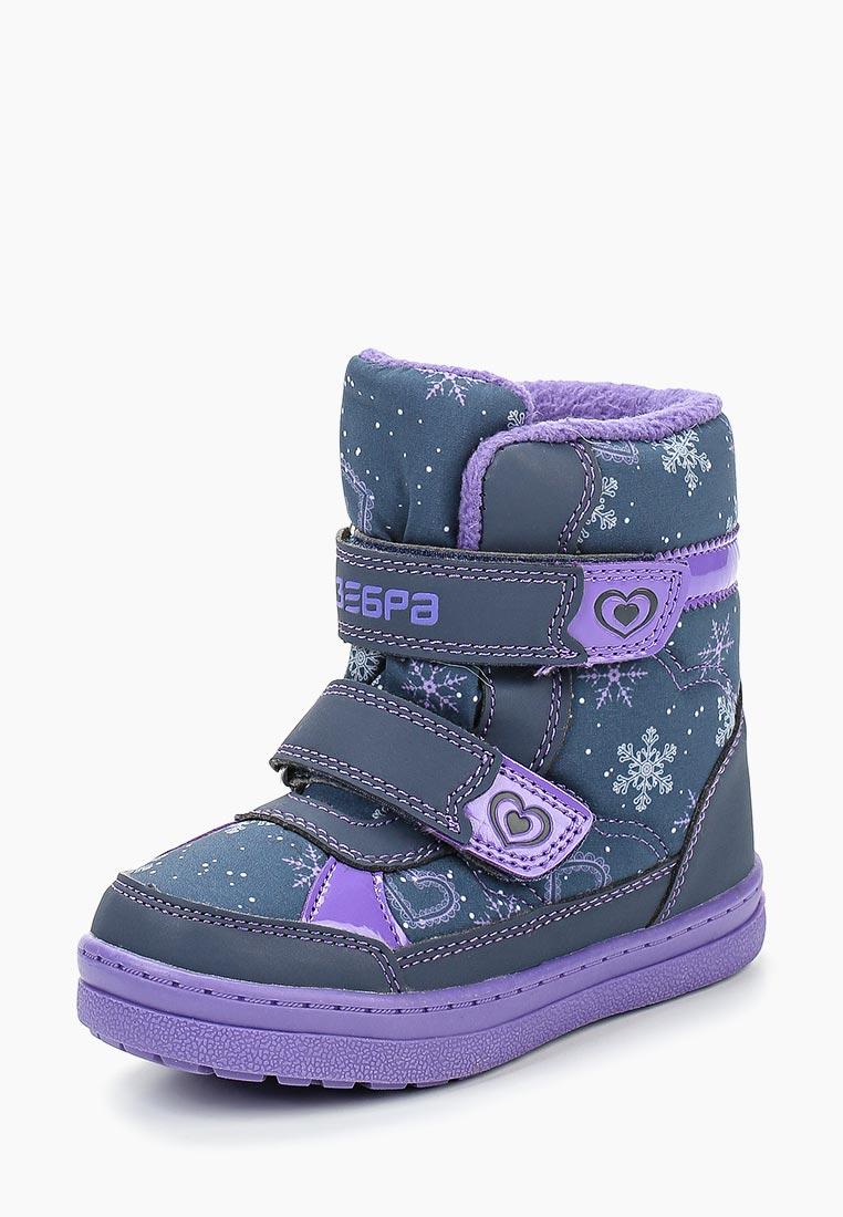 Ботинки для девочек Зебра 12689-20