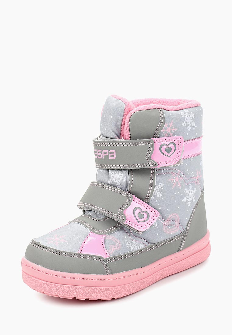 Ботинки для девочек Зебра 12696-10