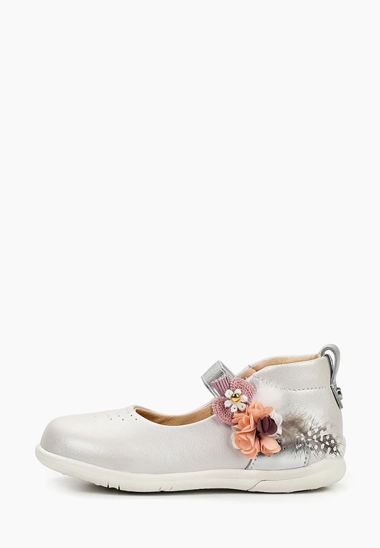 Туфли для девочек Зебра 13143-13