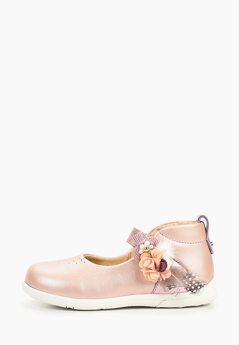 Туфли для девочек Зебра 13144-9