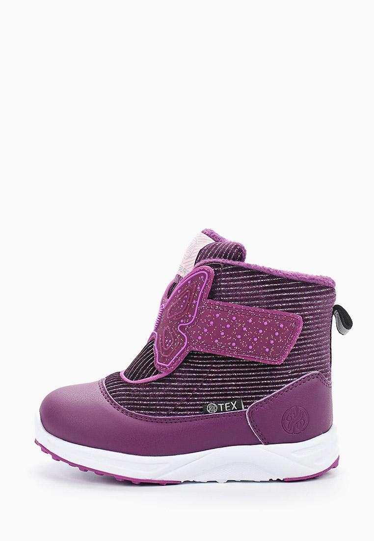 Ботинки для девочек Зебра 13892-22
