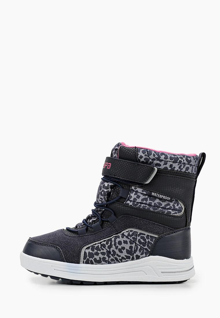 Ботинки для девочек Зебра 13909-5