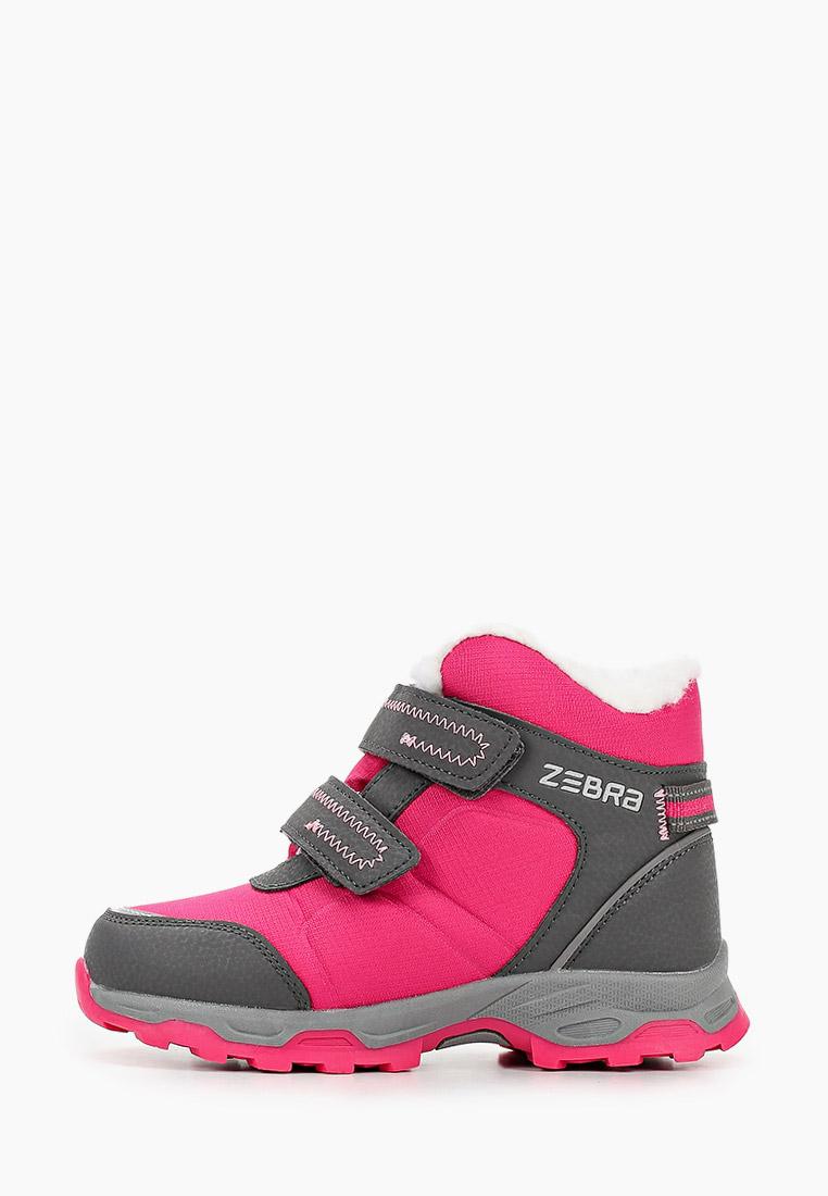 Ботинки для девочек Зебра 13962-22
