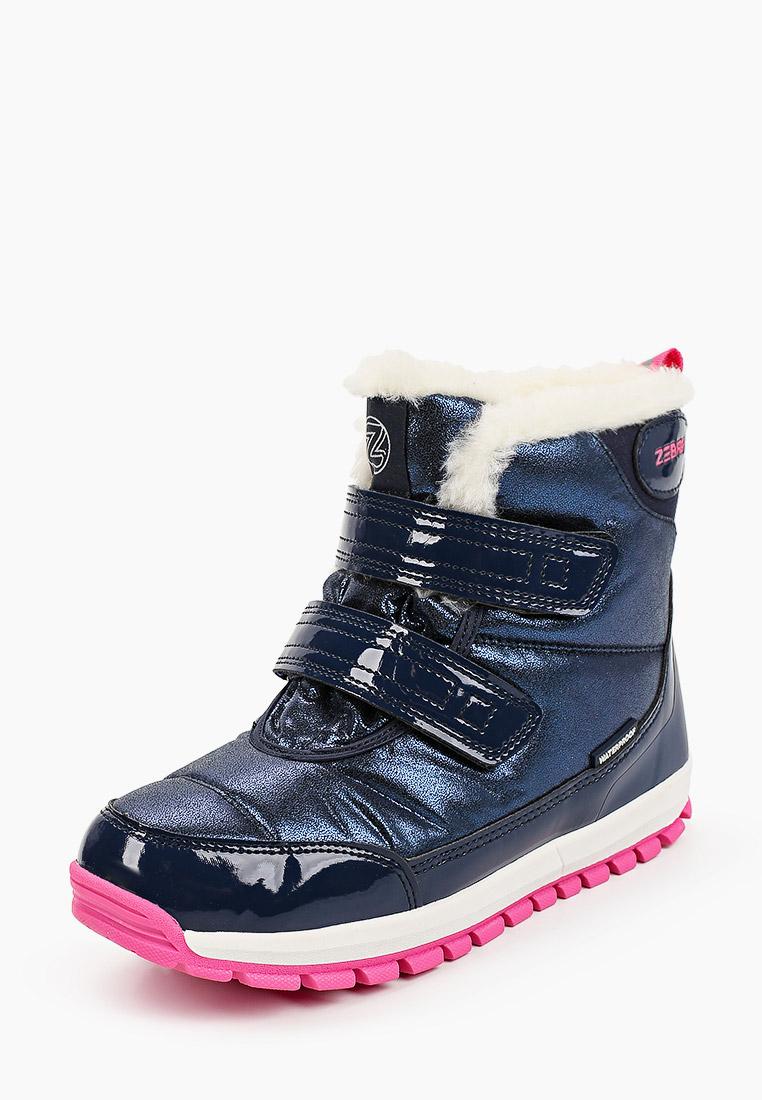 Ботинки для девочек Зебра 15568-5: изображение 2