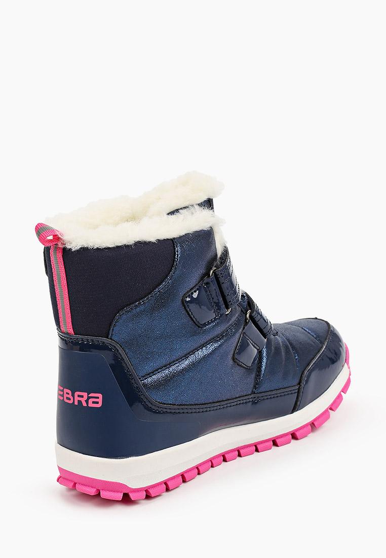 Ботинки для девочек Зебра 15568-5: изображение 3