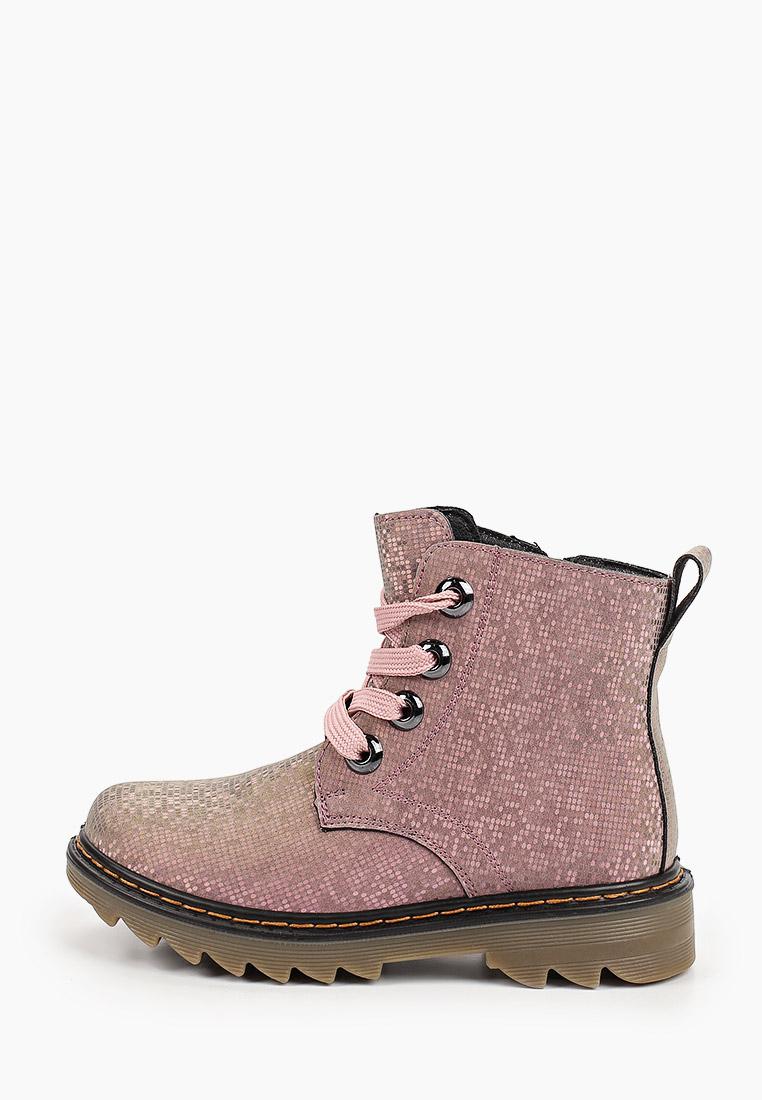 Ботинки для девочек Зебра 16314-9