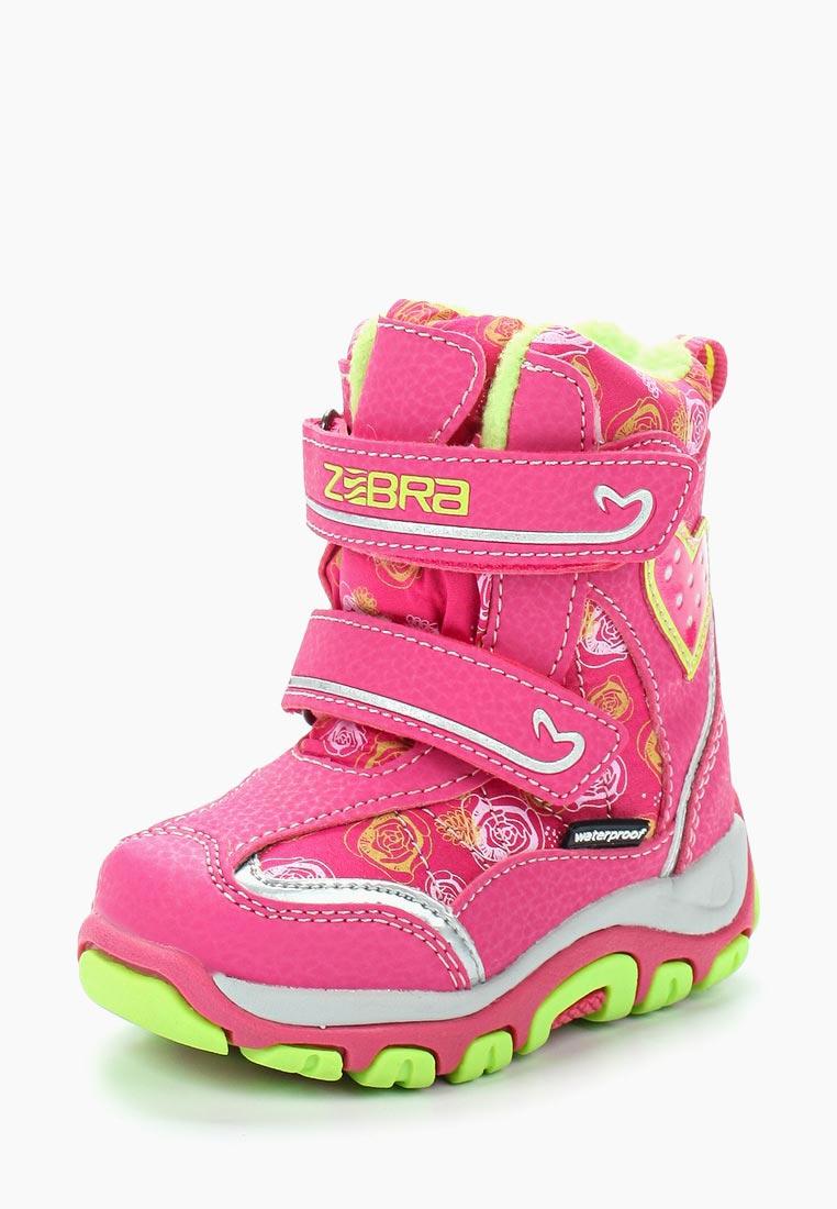 Ботинки для девочек Зебра 11004-9