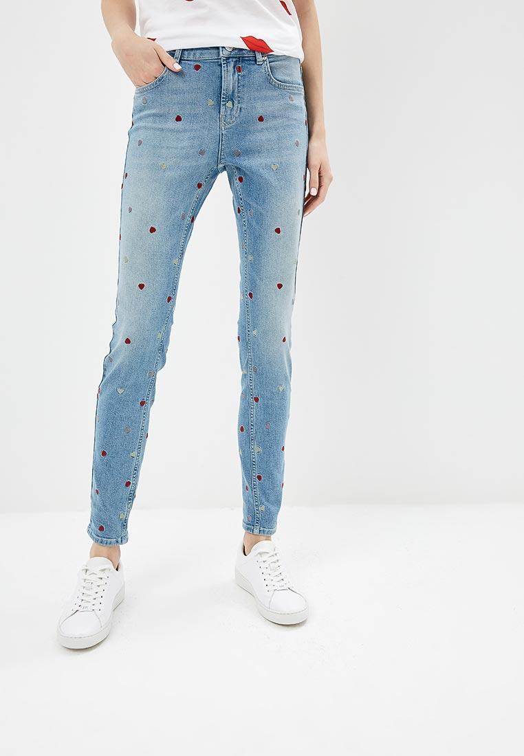 Зауженные джинсы Zoe Karssen PF181523