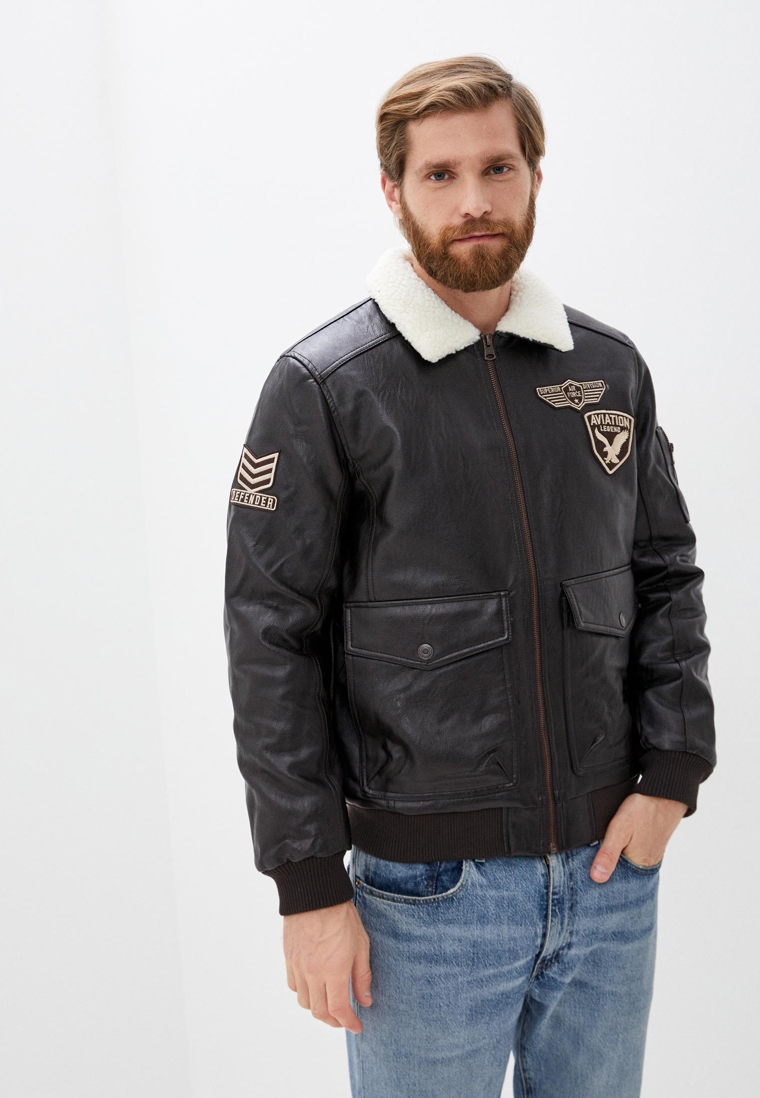 Кожаная куртка Zolla 010335P02084