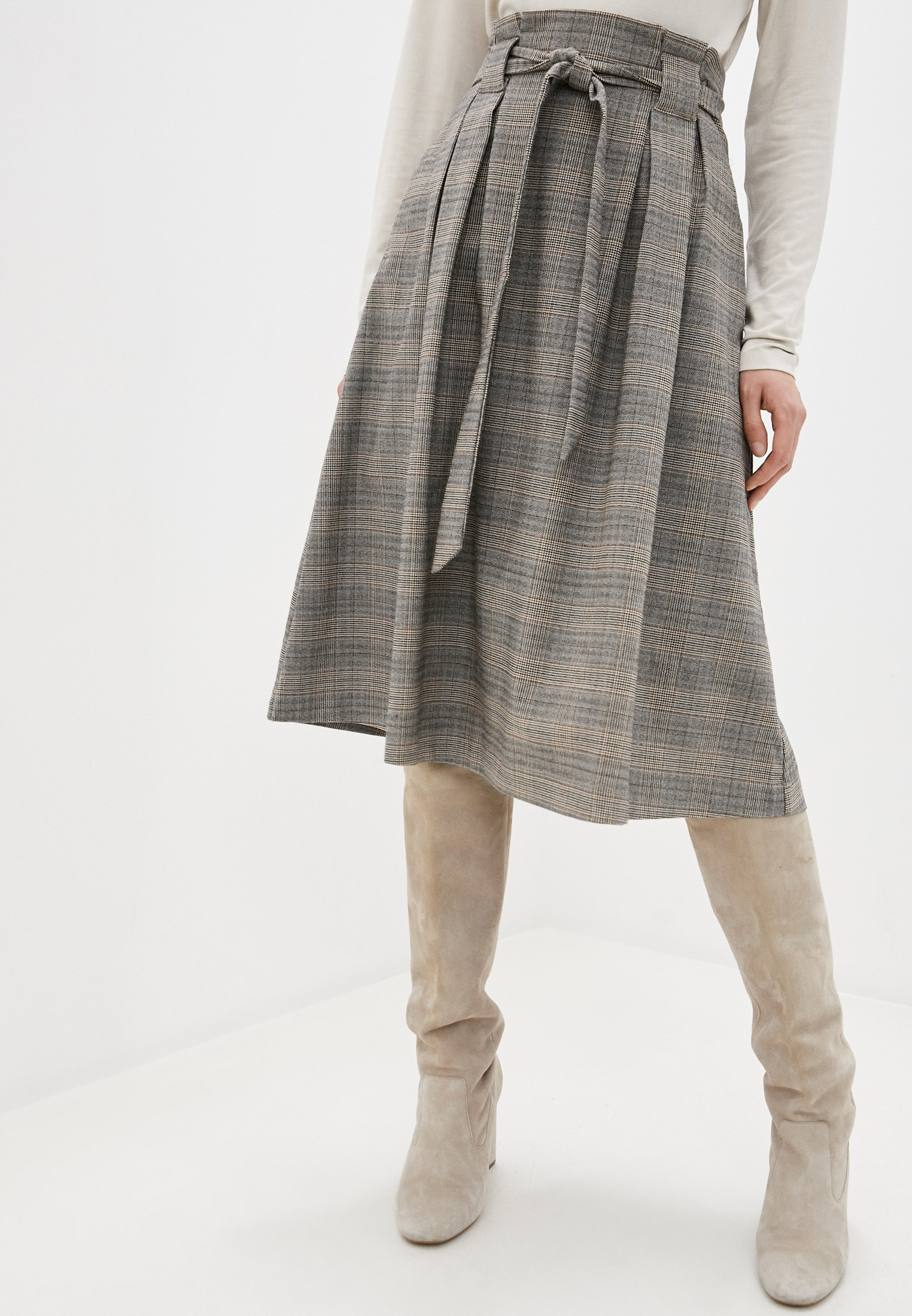 Широкая юбка Zolla 02034787Z041