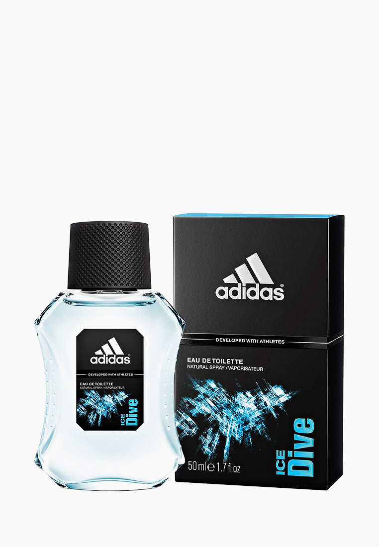 Туалетная вода adidas Ice Dive, 50 мл за 1 125 ₽. в интернет-магазине Lamoda.ru