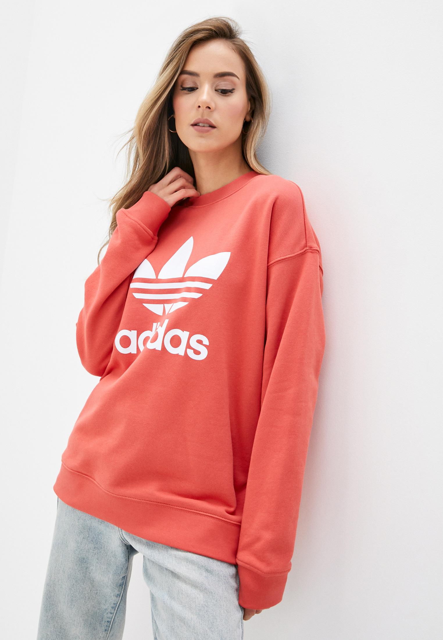 Свитшот adidas Originals TRF CREW SWEAT за 2 872 ₽. в интернет-магазине Lamoda.ru