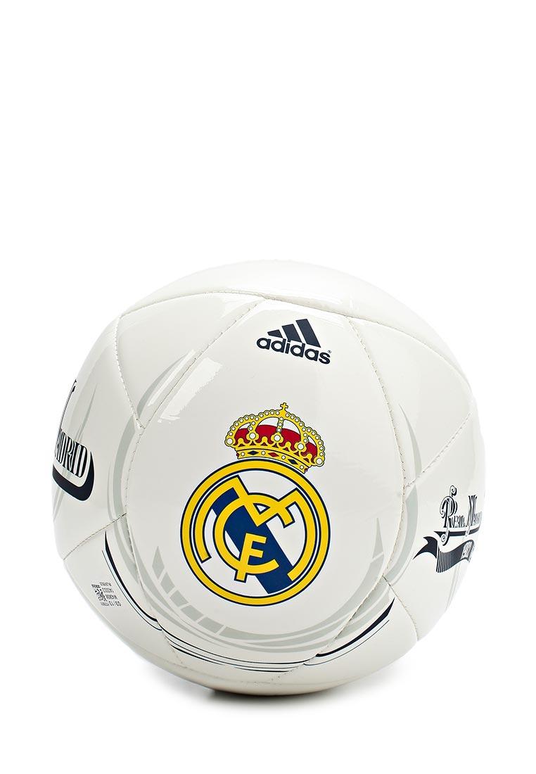Мяч футбольный adidas REAL MADRID купить за 990 руб AD094DUASY11 в  интернет-магазине Lamoda.ru 88f89897bfd0d