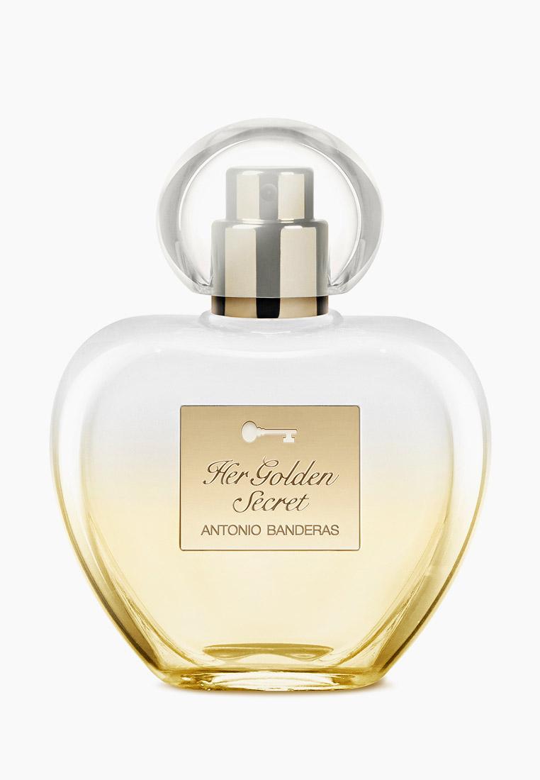 Туалетная вода Antonio Banderas Golden Secret Woman 50 мл за 1 192 ₽. в интернет-магазине Lamoda.ru