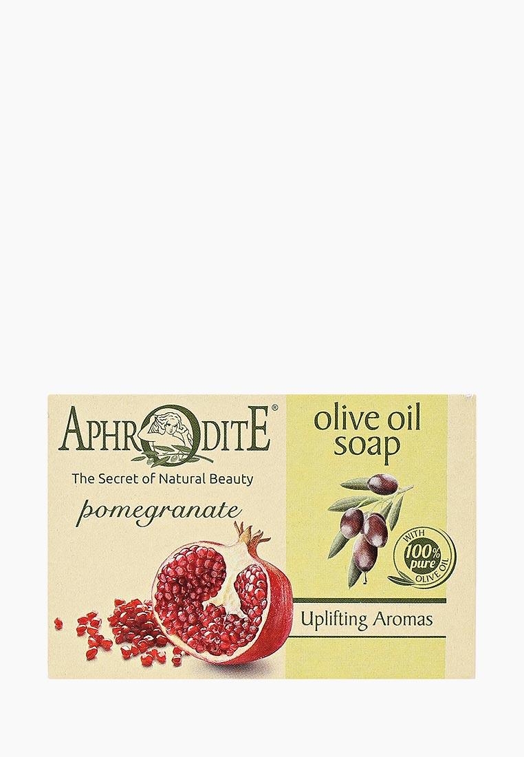 Aphrodite Мыло оливковое, с гранатом, 100 г