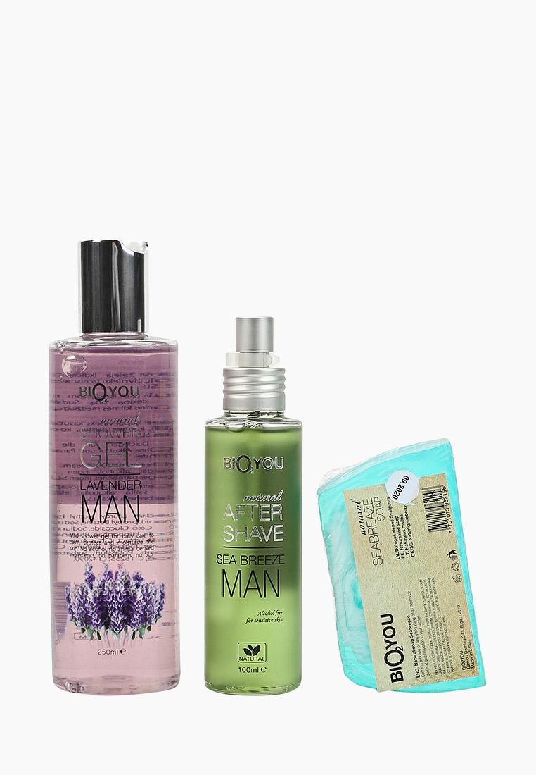 Набор подарочный Bio2you гель для душа, спрей после бритья, мыло за 1 020 ₽. в интернет-магазине Lamoda.ru