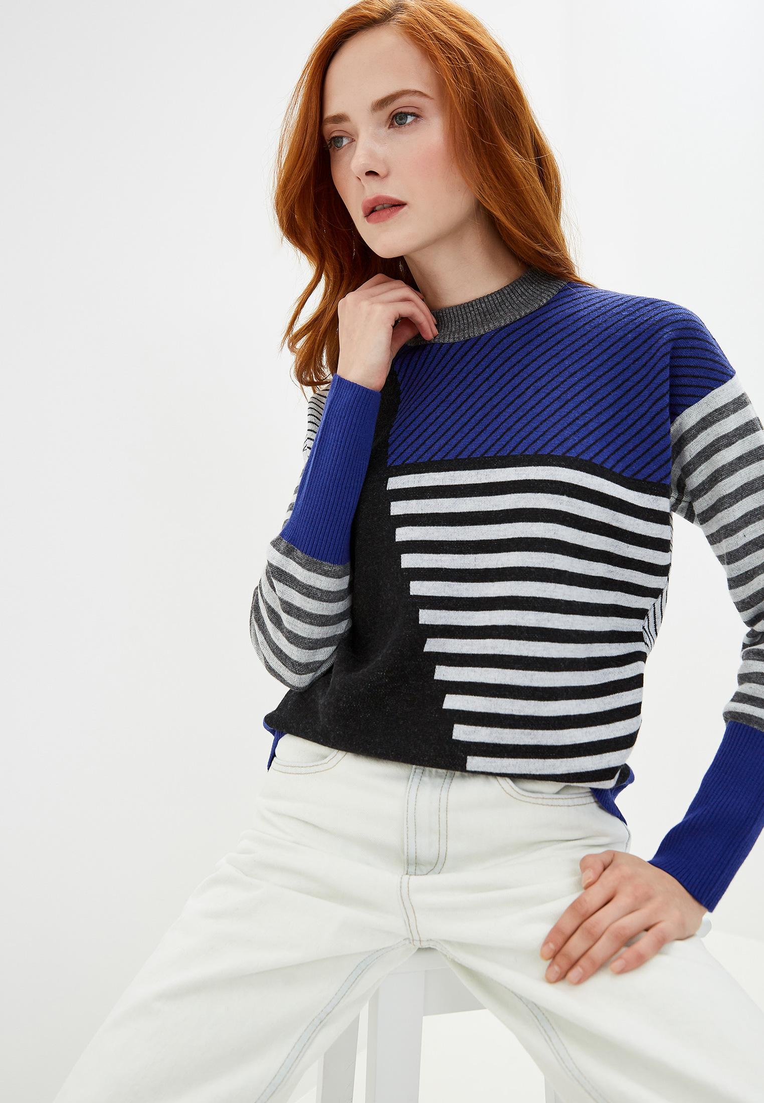 Джемпер, Bikkembergs, цвет: синий. Артикул: BI535EWFJOX6. Одежда / Джемперы, свитеры и кардиганы