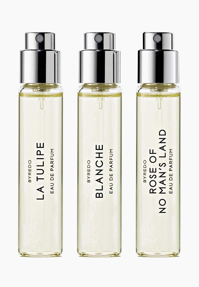 Byredo Набор парфюмерный La Sélection Florale (Blanche/ La Tulipe/ Rose Of No Mans Land) 3*12 мл