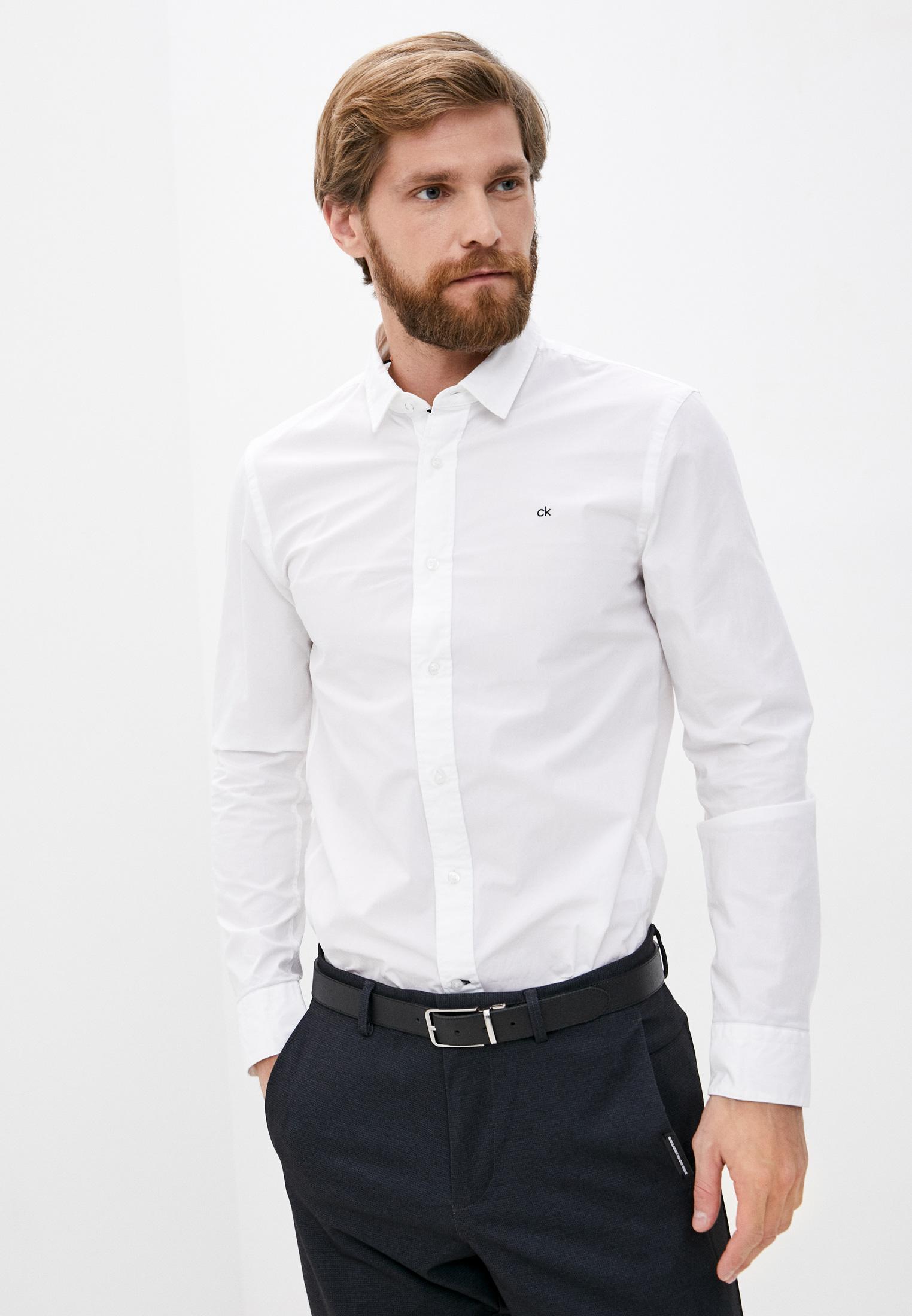 Рубашка Calvin Klein за 8 990 ₽. в интернет-магазине Lamoda.ru